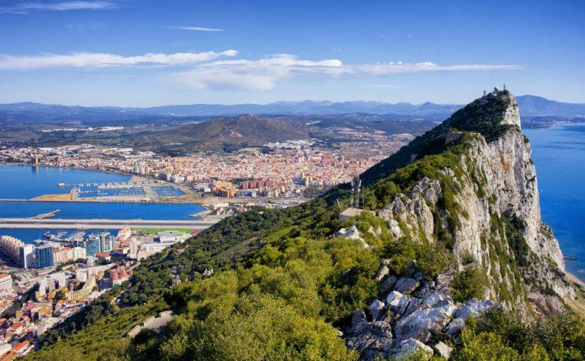 Klippe på Gibraltar